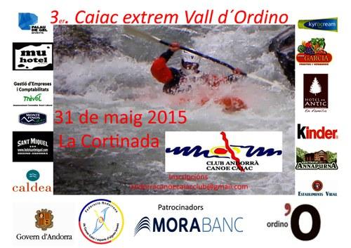 3r Caiac Extrem Vall d'Ordino