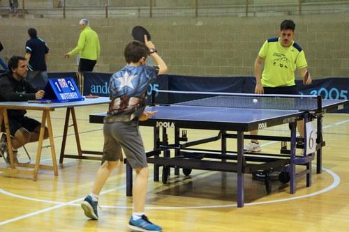 Campus i Open d'alçada de tennis taula