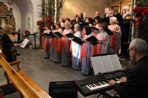 Cantada de nadales amb la Coral Casamanya