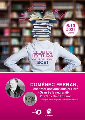 Club de lectura de les Valls del Nord