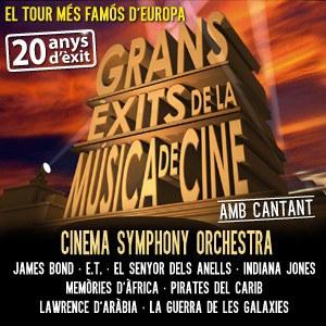 Concert de bandes sonores. Cinema Symphony Orchestra