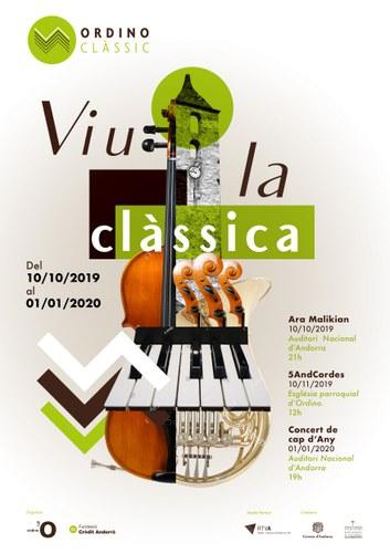 Concert de Cap d'Any. Ordino Clàssic