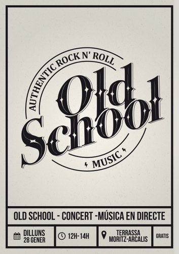 Concert de rock & roll amb Old School