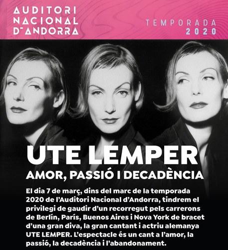 Concert d'Ute Lemper