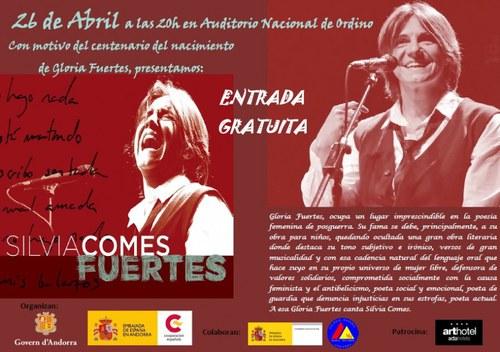 Concert homenatge a Gloria Fuertes