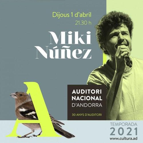 Concert Miki Núñez