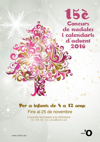 Concurs de nadales i calendaris d'advent