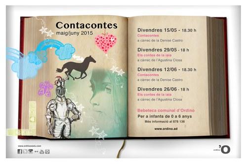 """Contacontes amb """"Els contes de la iaia"""""""