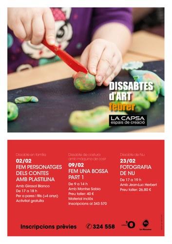Dissabtes d'Art a La Capsa