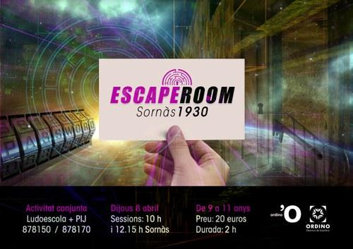 Escape Room 'Sornàs 1930'