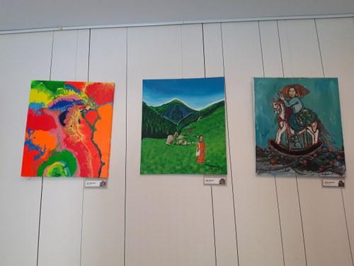 Exposició Art Camp 2014