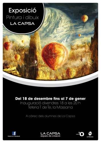 Exposició d'alumnes de La Capsa, espais de creació