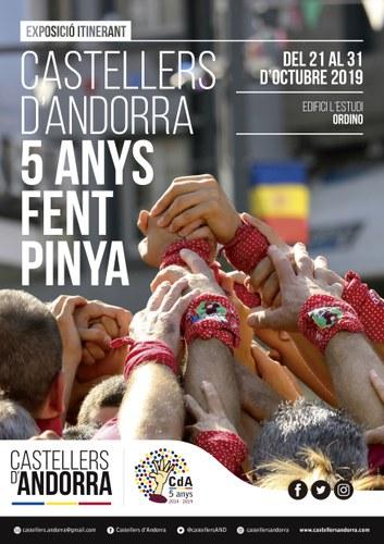 Exposició de fotografia Castellers d'Andorra