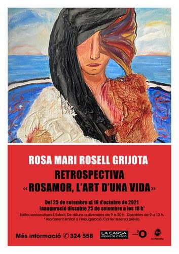 Exposició d'homenatge a Rosa Mari Rossell