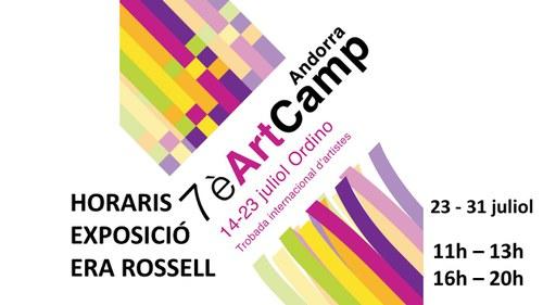 Exposició d'obres Art Camp 2021