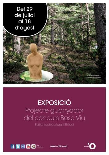 Exposició projecte 'Bosc viu'