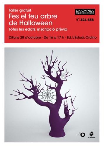 Fes el teu arbre de Halloween