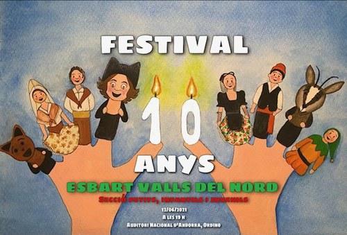Festival 10 anys Esbart Valls del Nord