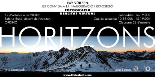 'Horitzons', exposició de fotografia i realitat virtual