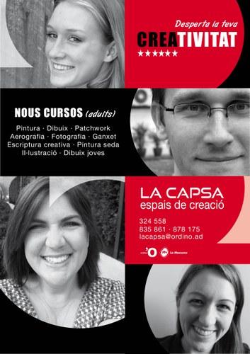 Inici de curs 2015/2016 a La Capsa