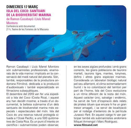 Isla del Coco: santuari de la diversitat marina amb Ramon Casabayó i Manel Montoro