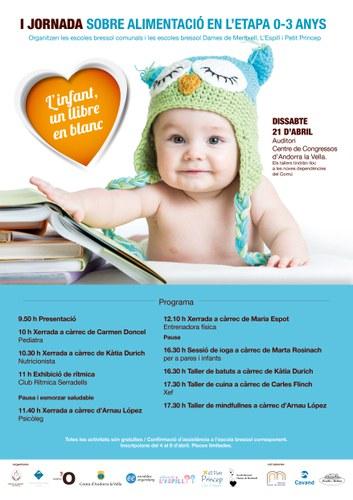 Jornada sobre alimentació infantil (0-3 anys)