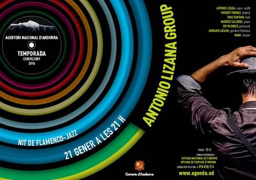 Nit de Flamenco-jazz amb Antonio Lizana Group