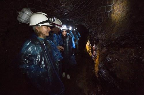 Visita nocturna mina Llorts i Ruta del Ferro