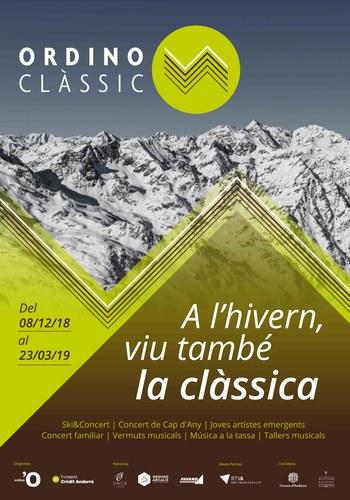 ORDINO CLÀSSIC. Ski & Concert