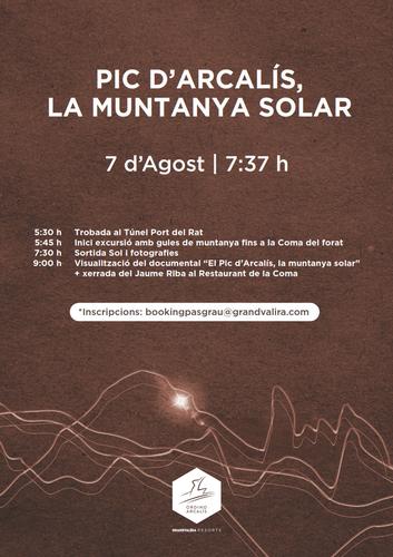 Pic d'Arcalís, la muntanya solar