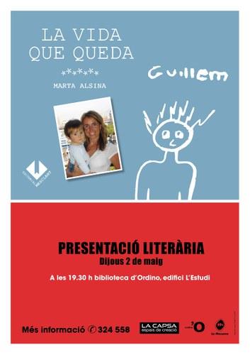 Presentació literària 'La vida que queda'