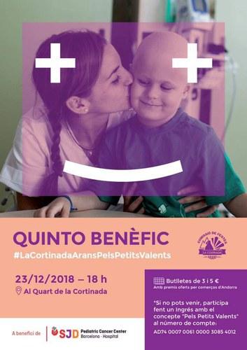 Quinto benèfic amb el càncer infantil