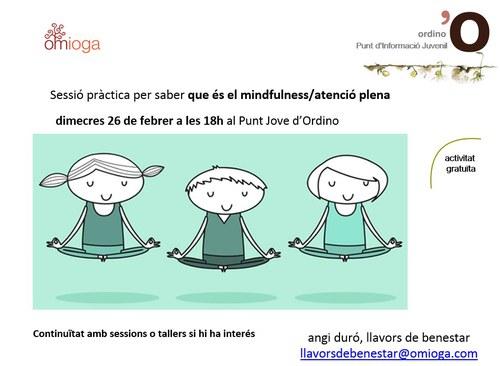 Sessió de mindfullness