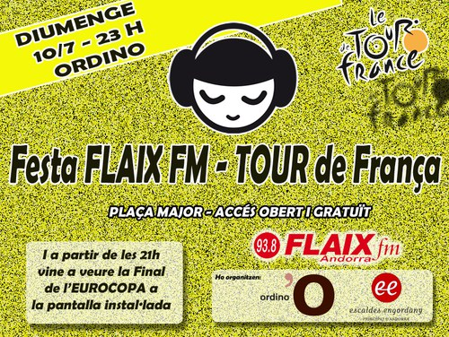Sorteig bici i festa Tour Flaix FM