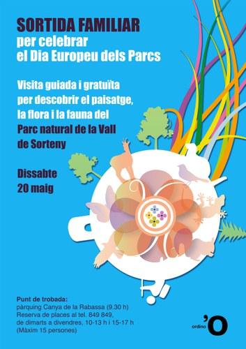 Sortida familiar Dia Europeu dels Parcs