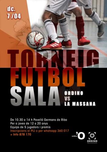 Torneig de futbol sala Ordino vs la Massana