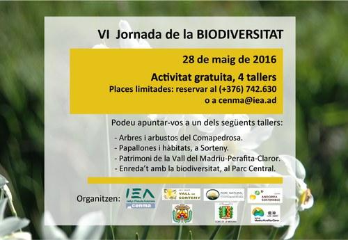 VI Jornada de la Biodiversitat