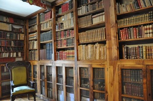 Visita guiada a la biblioteca de la Casa d'Areny Plandolit