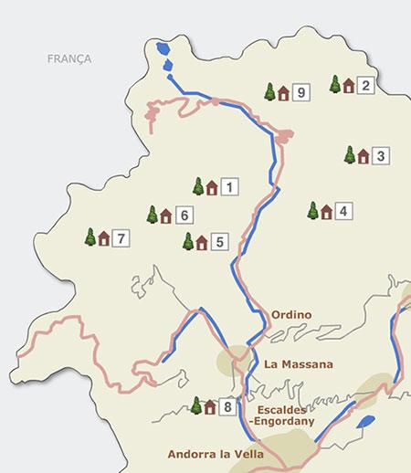 Refugis de muntanya - Ordino