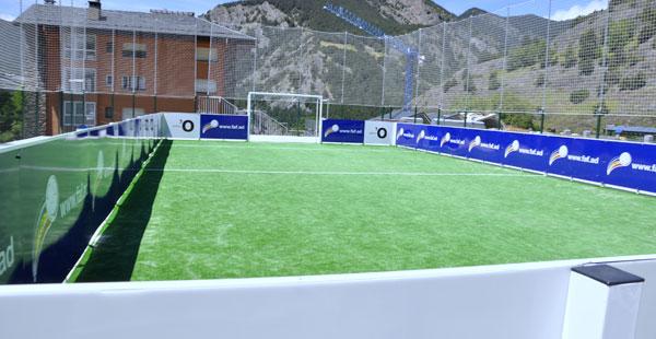Minicamp futbol, Ordino