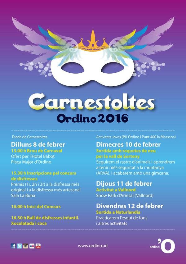 Programa Carnaval 2016