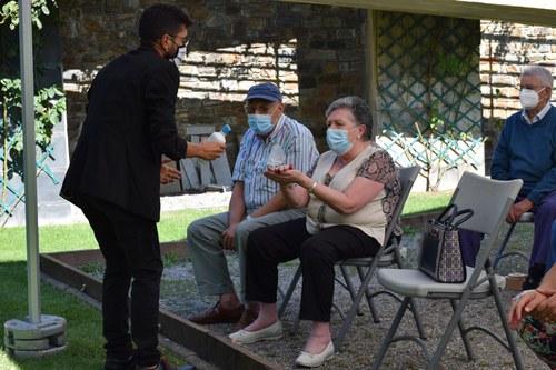 La gent gran recupera l'activitat física i els tallers de memòria